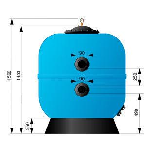 Фильтр AquaViva M1250